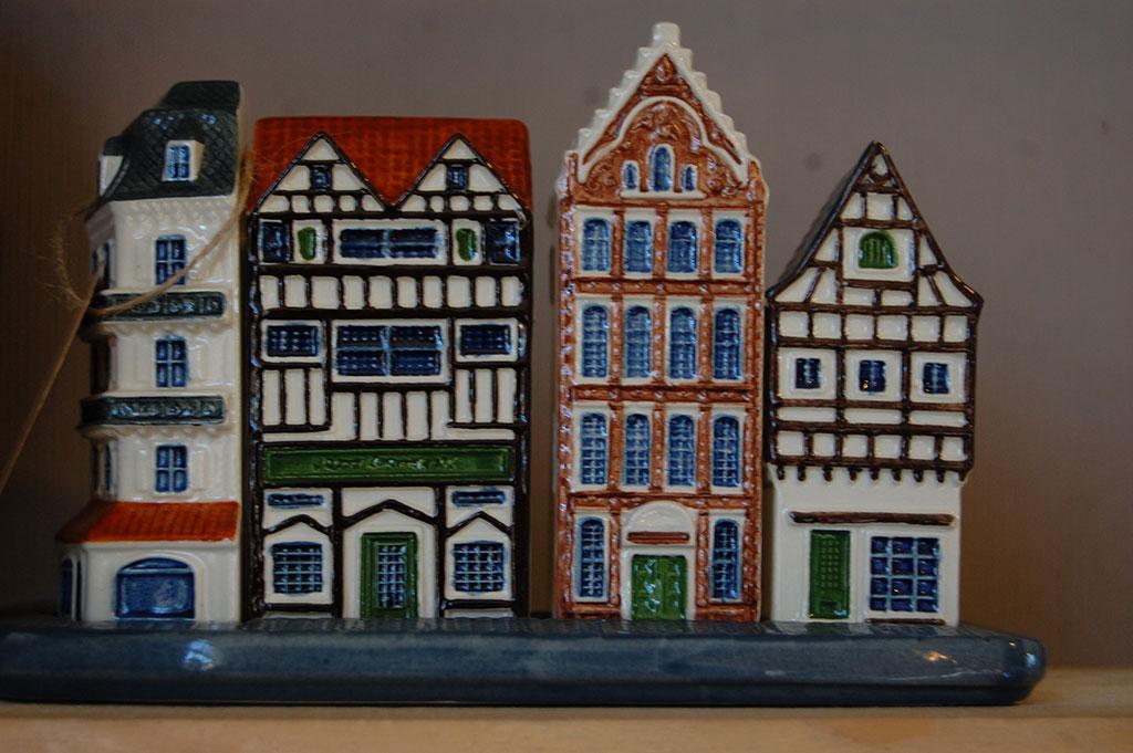 Porseleinen huisjes